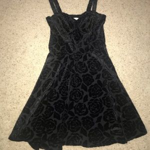 Abercrombie black mini dress